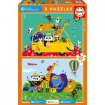 Puzzle  Educa-17725 Children's Village