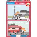 Puzzle  Educa-17726 Children's Village
