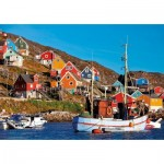 Puzzle  Educa-17745 Nordic Houses