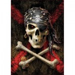 Puzzle  Educa-17964 Skull of a Pirate