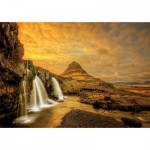 Puzzle  Educa-17971 Kirkjufellsfoss Waterfall, Iceland