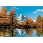 Puzzle  Educa-17973 Matterhorn Height in Autumn
