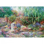 Puzzle  Educa-17981 XXL Pieces - Your Garden