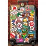 Puzzle  Educa-18002 Love to Travel