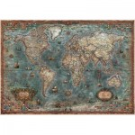 Puzzle  Educa-18017 Antique World Map