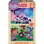 Educa-18081 Wooden Puzzle - Disney - Vampirina