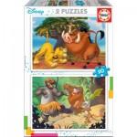 Educa-18103 2 Puzzles - Disney
