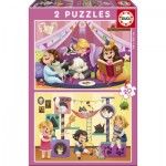 2 Jigsaw Puzzles - Pijama Party