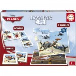 2 Puzzles + Domino + Identic - Planes