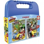 2 Puzzles - Mickey Roadster Racers
