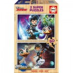 2 Wooden Jigsaw Puzzles - Disney Junior