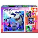 4 Puzzles - Disney Vampirina