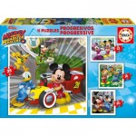 4 Puzzles - Mickey and the Roadster Racers