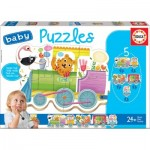 5 Baby Puzzles