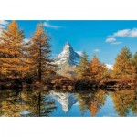 Puzzle   Matterhorn Height in Autumn