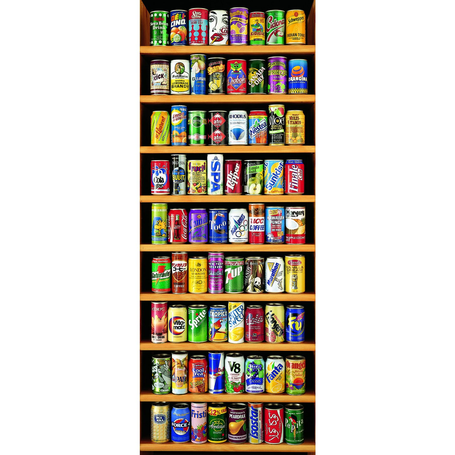 jigsaw puzzle 2000 pieces vertical cans educa 11053. Black Bedroom Furniture Sets. Home Design Ideas