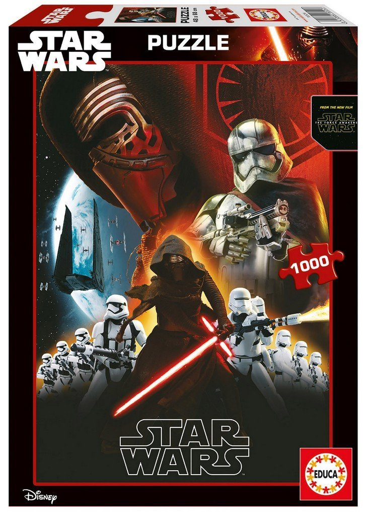 puzzle star wars educa 16524 1000 pieces jigsaw puzzles super heroes jigsaw puzzle. Black Bedroom Furniture Sets. Home Design Ideas