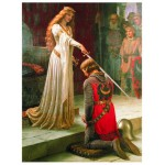 Puzzle  Eurographics-6000-0038 Edmung Blair Leighton - The Accolade
