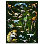 Eurographics-6000-0072 Jigsaw Puzzle - 1000 Pieces - Feathered Dinosaurs