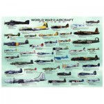 Eurographics-6000-0075 Jigsaw Puzzle - 1000 Pieces - World War II Aircrafts