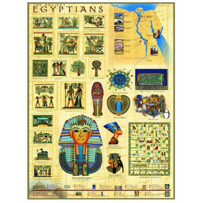 Jigsaw Puzzle - 1000 Pieces - The Ancient Egyptians