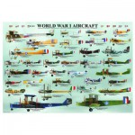 Puzzle  Eurographics-6000-0087 The planes of the 1st world war