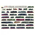 Puzzle  Eurographics-6000-0090 Steam locomotives