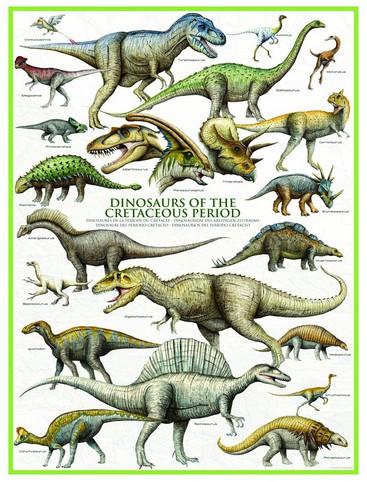 Puzzle Eurographics-6000-0098 Dinosaurs