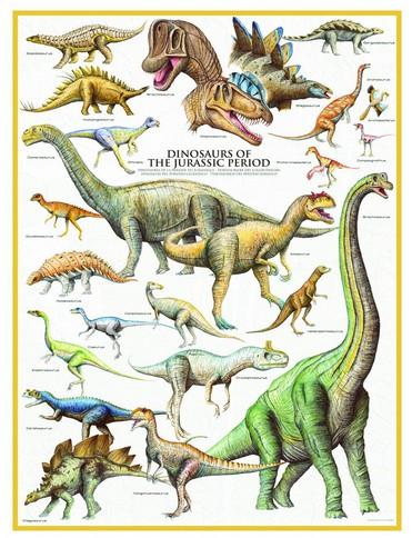 Puzzle Eurographics-6000-0099 Dinosaurs