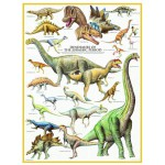 Puzzle  Eurographics-6000-0099 Dinosaurs
