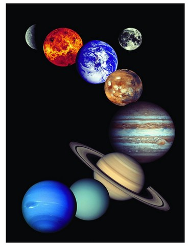 Eurographics-6000-0100 Jigsaw Puzzle - 1000 Pieces - Nasa Solar System