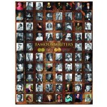 Eurographics-6000-0249 Jigsaw Puzzle - 1000 Pieces - Famous Writers
