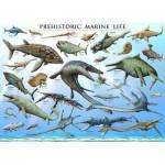 Puzzle  Eurographics-6000-0307 Prehistoric marine life