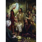 Puzzle  Eurographics-6000-0343 Greene - At Jesus' Feet