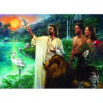 Puzzle  Eurographics-6000-0356 Nathan Greene - Creation in Eden