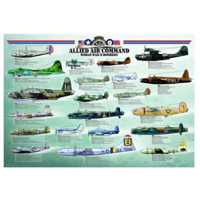 Puzzle Eurographics-6000-0378 Bomber Allies - Second World War