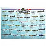 Puzzle  Eurographics-6000-0379 Fighter plane World War II