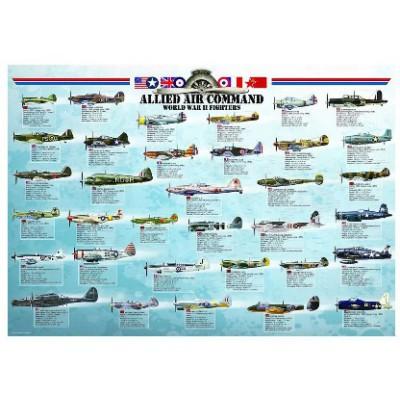 Puzzle Eurographics-6000-0379 Fighter plane World War II