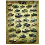 Puzzle  Eurographics-6000-0388 World War II Tanks