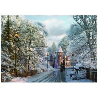 Puzzle Eurographics-6000-0425 Dominic Davison: Christmas Walk In New England