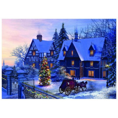 Puzzle Eurographics-6000-0428 Dominic Davison: At Home For Christmas