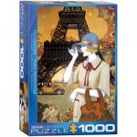 Puzzle  Eurographics-6000-0517 Helena Lam - Paris Adventure