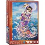 Puzzle  Eurographics-6000-0563 Haruyo Morita - Tsuki Hoshi
