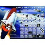 Puzzle  Eurographics-6000-0571 Space Shuttle Atlantis