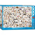 Puzzle  Eurographics-6000-0581 The World of Dogs