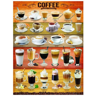Puzzle Eurographics-6000-0589 Coffee