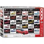 Puzzle  Eurographics-6000-0683 Corvette Evolution