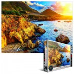 Puzzle  Eurographics-6000-0691 Sunset on the Pacific Coast