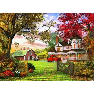 Puzzle Eurographics-6000-0694 Dominic Davison: Old Pumpkin Farm