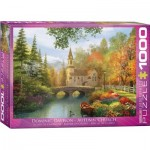 Puzzle  Eurographics-6000-0695 Dominic Davison - Autumn Church